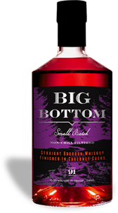 Big Bottom Straight Bourbon Whiskey, Cabernet Cask Finish 1
