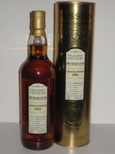 Cragganmore 1985 Murray McDavid Mission Gold Series 1