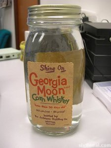 Georgia Moon Corn Whiskey 1