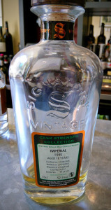 Imperial 18 year Signatory Cask Strength 1995 1