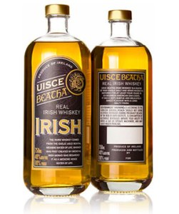 Uisce Beatha Real Irish Whiskey 1