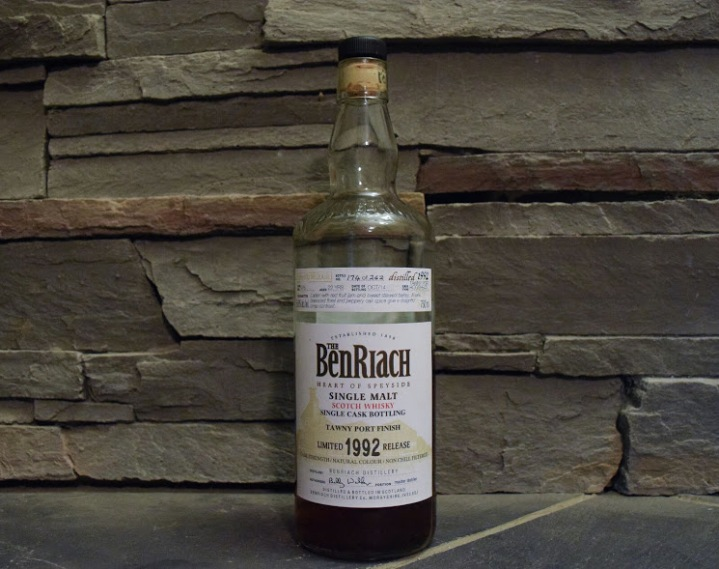 BenRiach 22 1992 Single Cask #976 Tawny Port Cask 2.jpg
