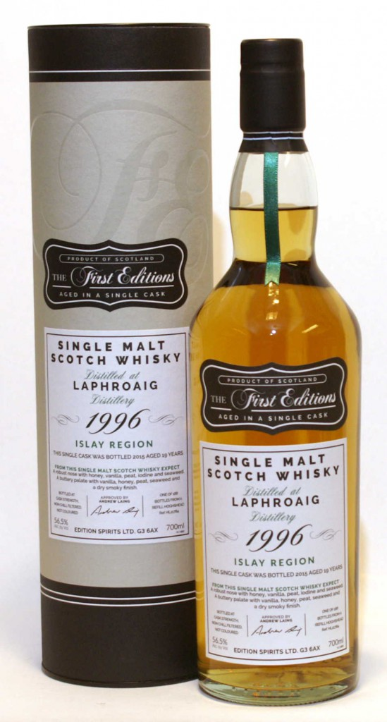 Laphroaig 19 1996 First Edition 2.jpg