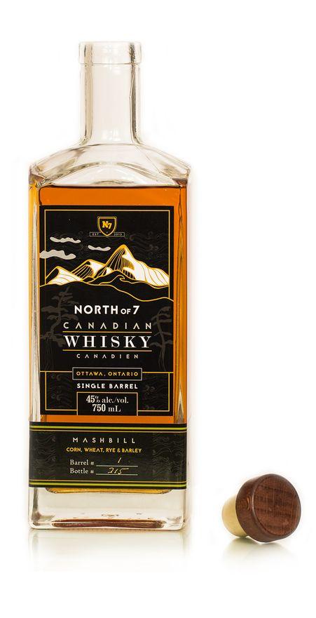 North of 7 Single Barrel Whiskies - Barrel 1  2 2.jpg