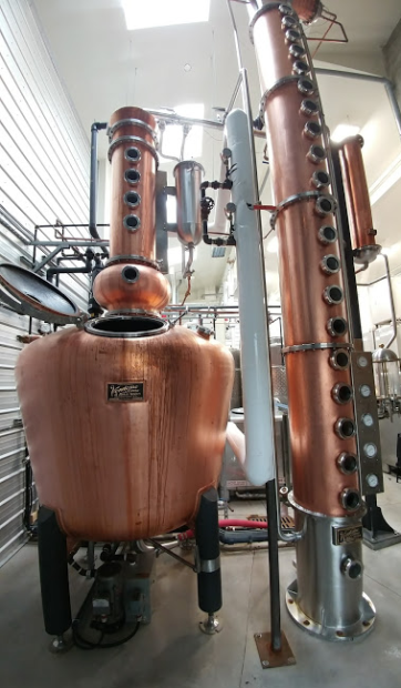 Compass Distillers' Vendome Still, named Tess