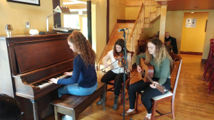 The Campbell sisters from Mabou