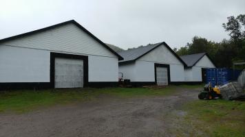 The three Glenora warehouses