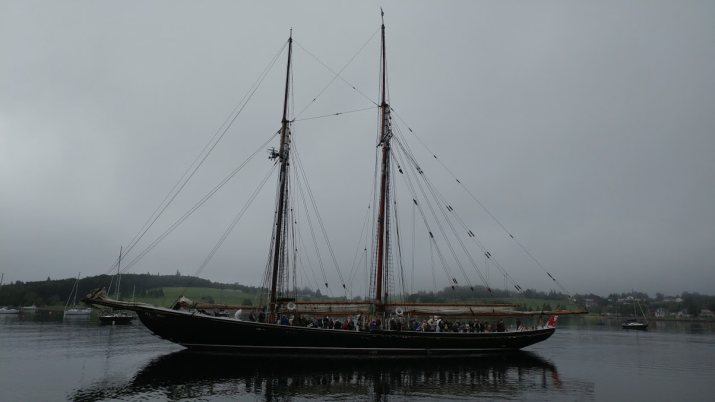 Bluenose II heading out for a tour