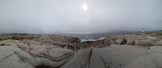 Panorama of Peggy's Cove
