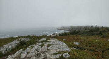 a hike along the south shore