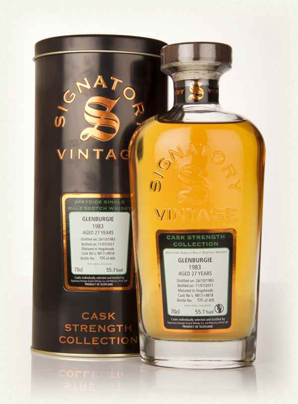 Glenburgie 27 1983 Signatory Cask Strength 2