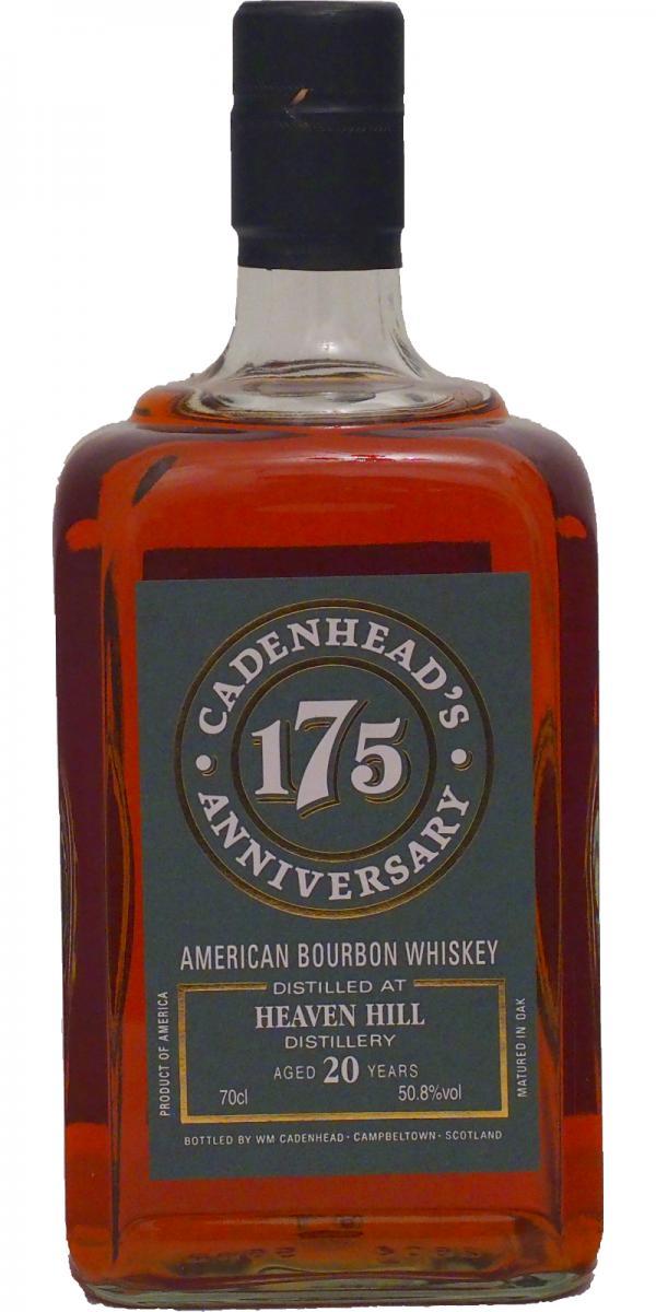 Heaven Hill 20 Cadenheads 175 Anniversary 2