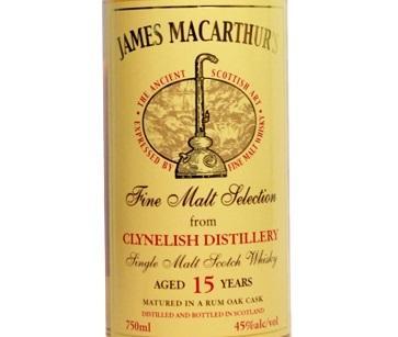 Clynelish 15 Jame MacArthur's Rum Cask 2.jpg