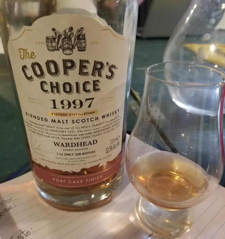Glenfiddich Wardhead 1997 Cooper's Choice Port Cask Finish